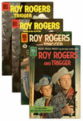 Silver Age (1956-1969):Western, Roy Rogers and Trigger #109, 143, and 144 Group (Dell, 1957-61)Condition: Average FN/VF.... (Total: 4 Comic Books)