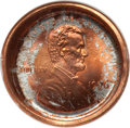 Errors, 1996 1C Lincoln Cent--Obverse Die Cap--MS66 Red NGC....
