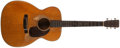 Musical Instruments:Acoustic Guitars, 1960 Martin 000-18 Natural Acoustic Guitar, #173586....