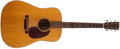 Musical Instruments:Acoustic Guitars, 1973 Martin D-18 Natural Acoustic Guitar, #328239....