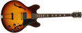 Musical Instruments:Electric Guitars, 1967 Gibson ES 335 TD Electric Archtop Guitar Sunburst Electric Arch Top Guitar, #60864....