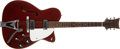 Musical Instruments:Electric Guitars, 1966 Martin GT-70 Burgandy Guitar, #211726....