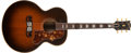 Musical Instruments:Acoustic Guitars, 1951 Gibson SJ-200 Sunburst Acoustic Guitar, #A9499....