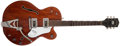 Musical Instruments:Electric Guitars, 1964/65 Gretsch Tennessean Burgundy Electric Guitar, #78608....
