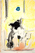 Prints:Contemporary, HELEN FRANKENTHALER (American, b. 1928). Madame dePompadour, 1985-1990. Lithograph in colors. 43-1/2 x 29-1/2inches (1...