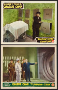 """Movie Posters:Mystery, The Shanghai Cobra & Other Lot (Monogram, 1945). Lobby Cards(2) (11"""" X 14""""). Mystery.. ... (Total: 2 Items)"""