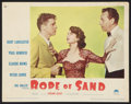 "Movie Posters:Adventure, Rope of Sand (Paramount, 1949). Lobby Card (11"" X 14""). Adventure....."