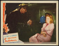 """Movie Posters:Hitchcock, Saboteur (Universal, 1942). Lobby Card (11"""" X 14""""). Hitchcock.. ..."""