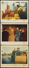 """Movie Posters:Hitchcock, The Wrong Man (Warner Brothers, 1957). Lobby Cards (3) (11"""" X 14""""). Hitchcock.. ... (Total: 3 Items)"""
