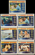"Movie Posters:War, The Caine Mutiny (Columbia, 1954). Lobby Cards (7) (11"" X 14"").War.. ... (Total: 7 Items)"