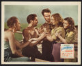 "Movie Posters:Hitchcock, Lifeboat (20th Century Fox, 1944). Lobby Card (11"" X 14"").Hitchcock.. ..."