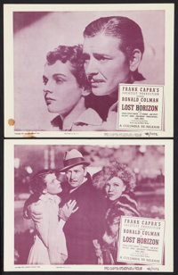 """Lost Horizon (Columbia, R-1948). Lobby Cards (2) (11"""" X 14""""). Fantasy. ... (Total: 2 Items)"""