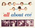 "Movie Posters:Drama, All About Eve (20th Century Fox, 1950). Half Sheet (22"" X 28"")Style A.. ..."