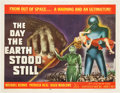 "Movie Posters:Science Fiction, The Day the Earth Stood Still (20th Century Fox, 1951). Half Sheet(22"" X 28"").. ..."