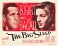 "Movie Posters:Film Noir, The Big Sleep (Warner Brothers, 1946). Half Sheet (22"" X 28"") StyleA.. ..."