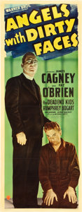 "Movie Posters:Crime, Angels with Dirty Faces (Warner Brothers, 1938). Insert (14"" X36"").. ..."