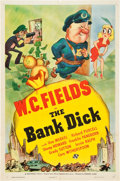 "Movie Posters:Comedy, The Bank Dick (Universal, 1940). One Sheet (27"" X 41"") Style D....."