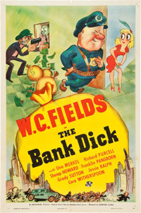 """The Bank Dick (Universal, 1940). One Sheet (27"""" X 41"""") Style D"""