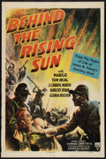 "Movie Posters:War, Behind the Rising Sun (RKO, 1943). One Sheet (27"" X 41"") and Photo(8"" X 10""). War.. ... (Total: 2 Items)"