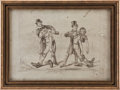 """Boxing Collectibles:Memorabilia, 19th Century """"The Victory"""" Original Published Lithograph...."""
