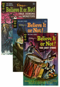 Silver Age (1956-1969):Horror, Ripley's Believe It Or Not Group (Gold Key, 1969-80) Condition:Average FN/VF.... (Total: 12 Comic Books)