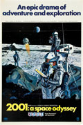 """Movie Posters:Science Fiction, 2001: A Space Odyssey (MGM, 1968). Cinerama One Sheet (27"""" X 41"""")Style B.. ..."""
