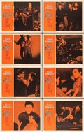 """Movie Posters:Elvis Presley, King Creole (Paramount, 1958). Lobby Card Set of 8 (11"""" X 14"""")..... (Total: 8 Items)"""