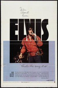 "That's the Way It Is (MGM, 1971). One Sheet (27"" X 41""). Elvis Presley"