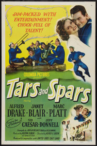 """Tars and Spars (Columbia, 1946). One Sheet (27"""" X 41"""") Style B. Musical"""