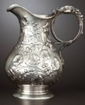 Silver Holloware, American:Pitchers, AN AMERICAN SILVER PITCHER . Starr & Marcus, New York, New York, circa 1875. Marks: STARR & MARCUS, NEW YORK, ENGLISH ST...