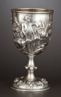 Silver Holloware, British:Holloware, A VICTORIAN SILVER GOBLET . Robert Hennell III, London, England,1861-1862. Marks: (lion passant), (leopard's head), (duty m...
