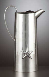 A MEXICAN SILVER PITCHER William Spratling, Taxco, Mexico, circa 1958 Marks: WILLIAM SPRATLING TAXCO MEXI