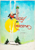 Original Comic Art:Comic Strip Art, William Randolph Hearst Christmas Greetings Book With Original Art By 35 Hearst Strip Artists (King Features Syndicate, 1943)....