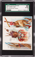 Non-Sport Cards:Singles (Pre-1950), 1888 N36 Allen & Ginter Deer Ham SGC 80 EX/NM 6 - Pop One,Highest! ...