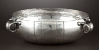A MEXICAN SILVER THREE-HANDLED BOWL William Spratling, Taxco, Mexico, circa 1940 Marks: SPRATLING MADE IN M
