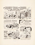 "Original Comic Art:Panel Pages, Wally Wood Mad #40 Ernie Kovacs' ""Strangely Believe It!""Page Original Art (EC, 1958)...."