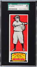 Baseball Cards:Singles (1950-1959), 1951 Topps Connie Mack Lou Gehrig SGC 80 EX/NM 6....