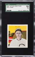 Baseball Cards:Singles (1930-1939), 1933 Tattoo Orbit Ted Lyons SGC 84 NM 7 - Pop One, Finest Known!...