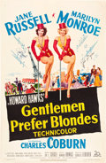 "Movie Posters:Musical, Gentlemen Prefer Blondes (20th Century Fox, 1953). Autographed OneSheet (27"" X 41"").. ..."