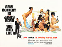 """You Only Live Twice (United Artists, 1967). British Quad (30"""" X 40"""") Style C"""