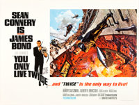 """You Only Live Twice (United Artists, 1967). British Quad (30"""" X 40"""") Style A"""
