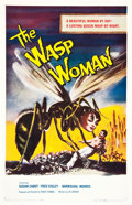 "Movie Posters:Science Fiction, The Wasp Woman (Film Group, 1959). One Sheet (27"" X 41"").. ..."
