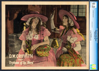 """Orphans of the Storm (United Artists, 1921). CGC Graded Lobby Card (11"""" X 14"""")"""