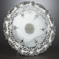 Silver Holloware, American:Plates, AN AMERICAN SILVER FOOTED PLATE . Gorham Manufacturing Co.,Providence, Rhode Island, circa 1910. Marks: (lion-anchor-G),...