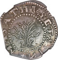 1652 SHILNG Oak Tree Shilling--Improperly Cleaned--NGC Details. XF. Crosby 6b-E2, Noe-11, W-510, R.6....(PCGS# 20)