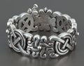 Silver Smalls:Other , A MEXICAN SILVER BRACELET . William Spratling, Taxco, Mexico, circa1944-1946. Marks: SPRATLING MADE IN MEXICO (center...