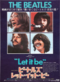 "Movie Posters:Rock and Roll, Let It Be (United Artists, 1970). Japanese B2 (20"" X 29"").. ..."