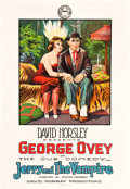 """Movie Posters:Comedy, Jerry and the Vampire (Mutual, 1917). One Sheet (27"""" X 41"""").. ..."""