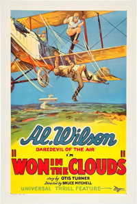 """Won in the Clouds (Universal, 1928). One Sheet (27"""" X 41"""")"""