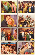 "Movie Posters:Drama, Lloyds of London (20th Century Fox, 1936). Lobby Card Set of 8 (11""X 14"").. ... (Total: 8 Items)"